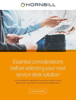 Essential considerations before selecting your next service desk solution cover
